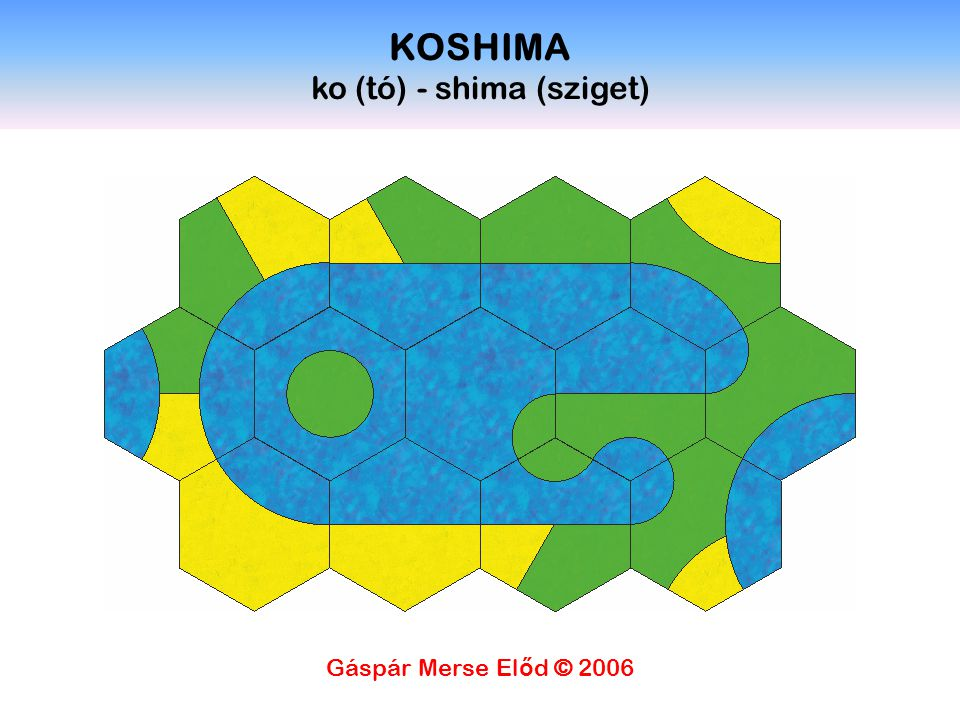 KOSHIMA ko (tó) - shima (sziget)