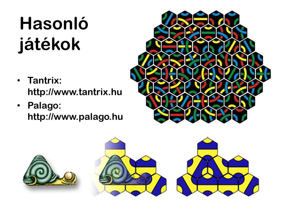 Hasonló játékok Tantrix: http://www.tantrix.hu