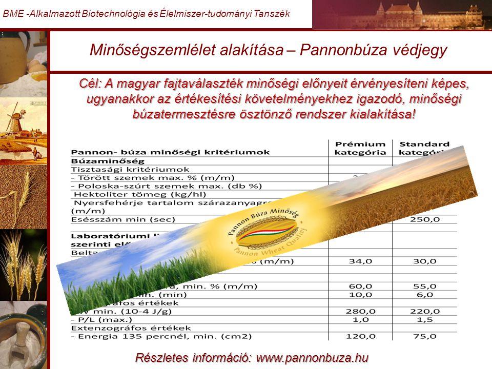 Minőségszemlélet alakítása – Pannonbúza védjegy