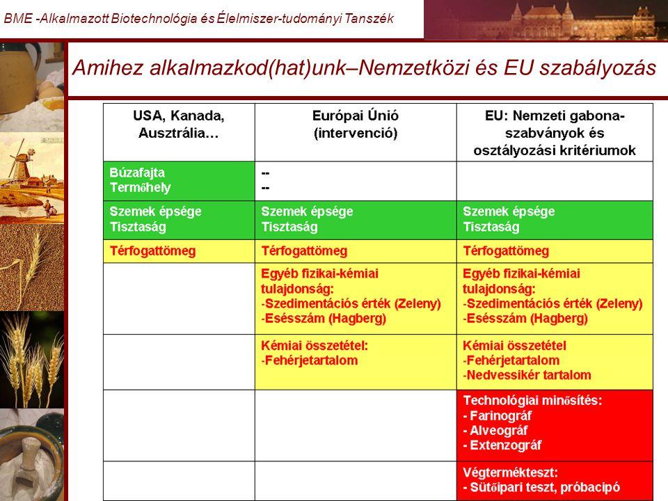 Amihez alkalmazkod(hat)unk–Nemzetközi és EU szabályozás
