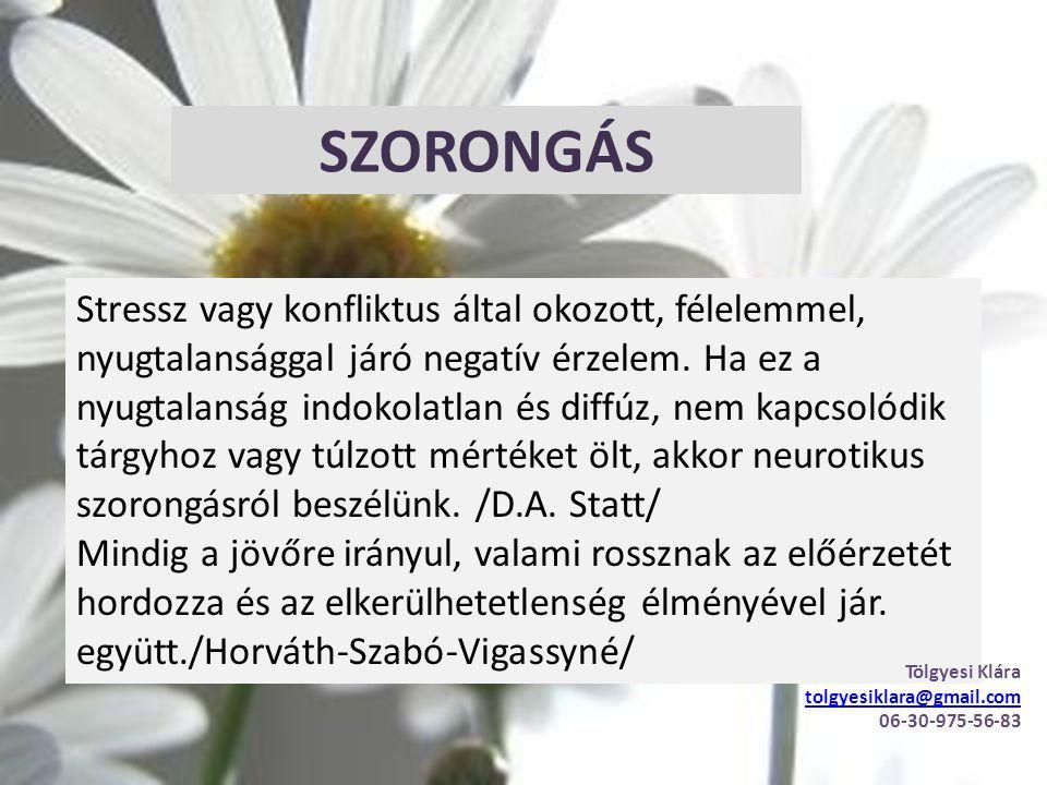 SZORONGÁS