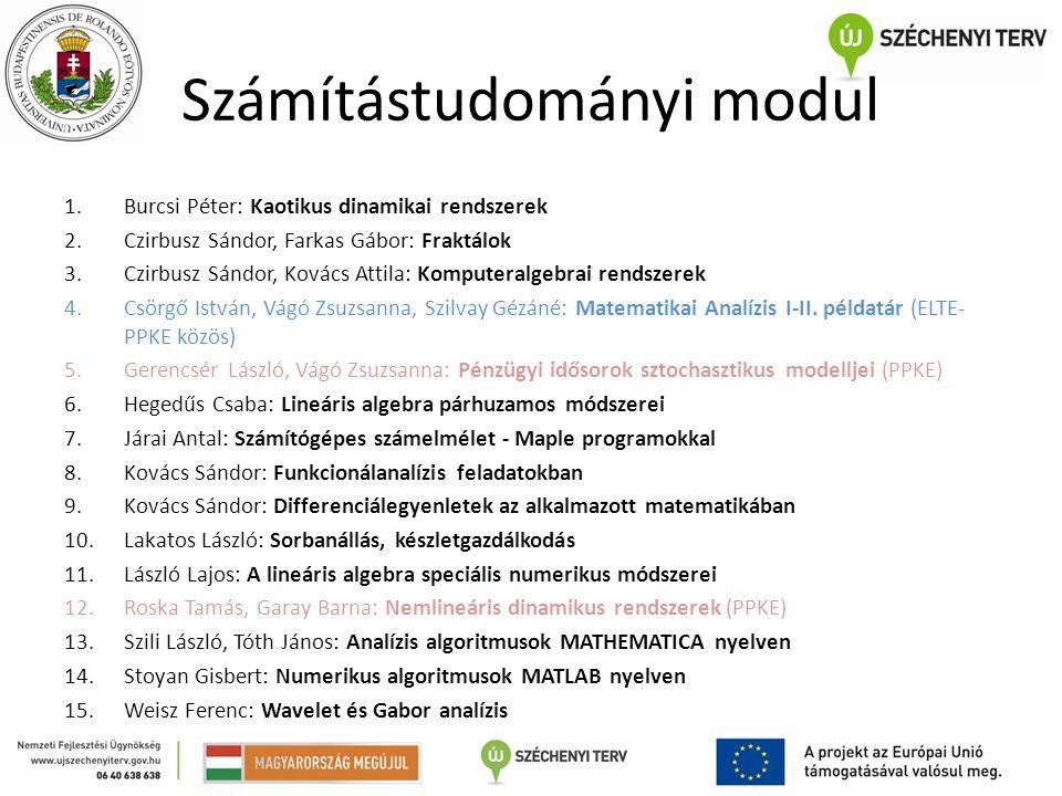 Számítástudományi modul