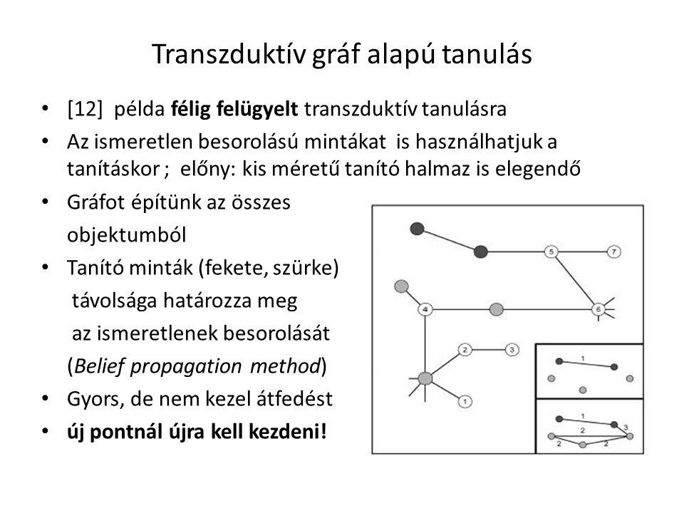 Transzduktív gráf alapú tanulás