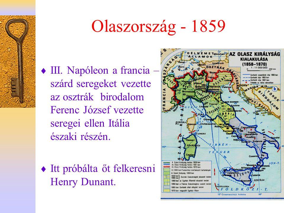 Olaszország - 1859