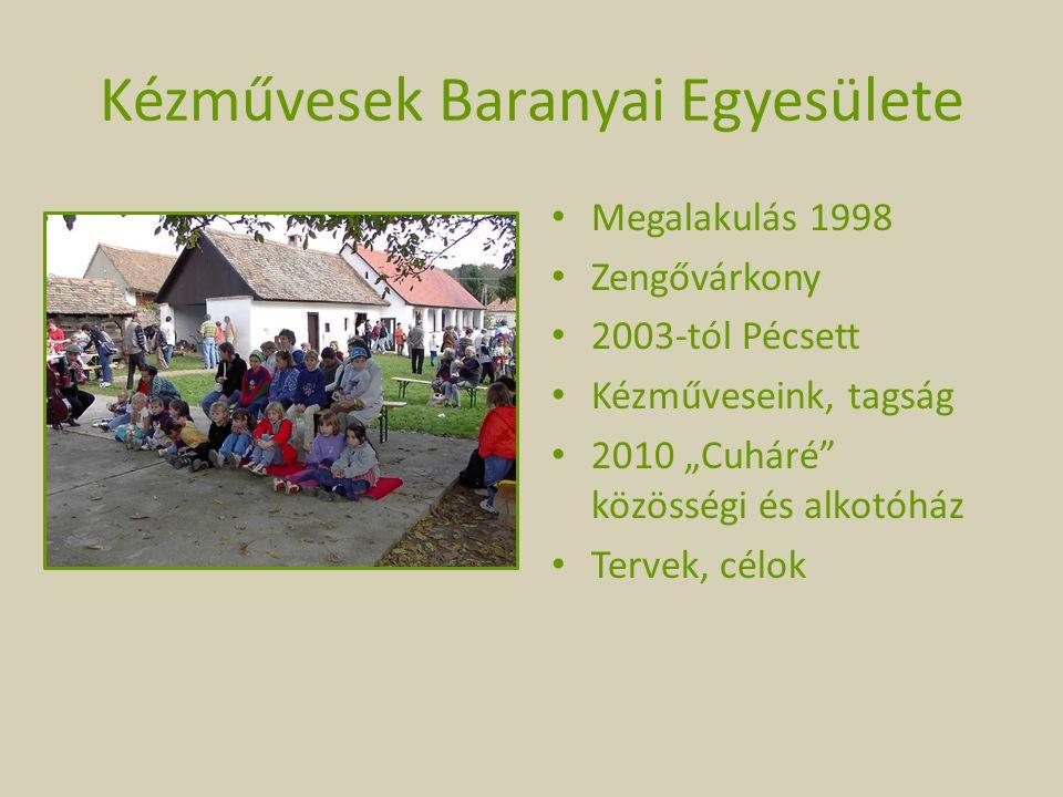 Kézművesek Baranyai Egyesülete