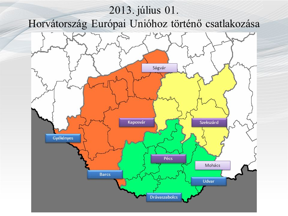 2013. július 01. Horvátország Európai Unióhoz történő csatlakozása