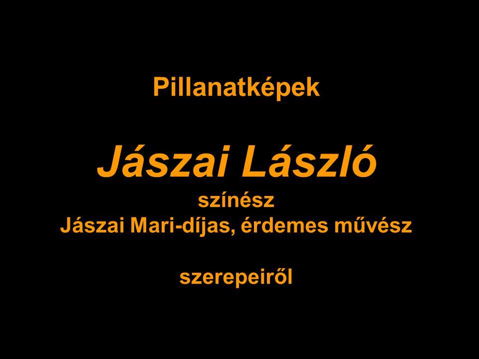 Jászai Mari-díjas, érdemes művész