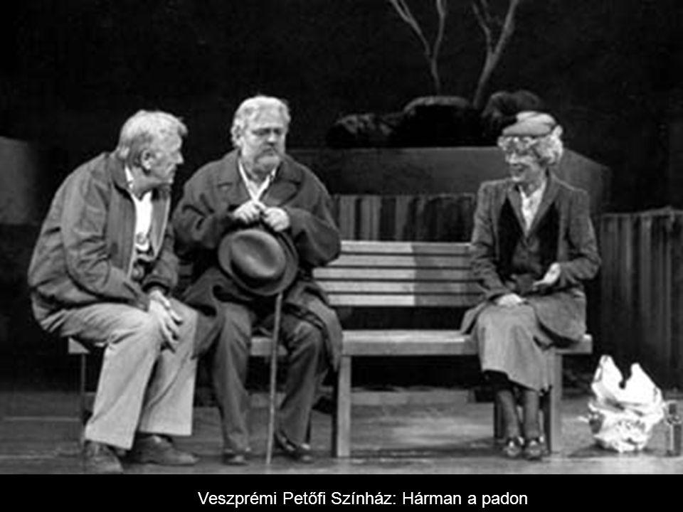 Veszprémi Petőfi Színház: Hárman a padon