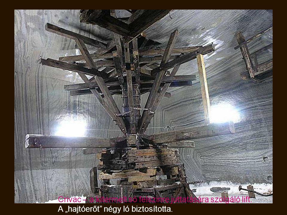 Crivac – a kitermelt só felszinre juttatására szolgáló lift