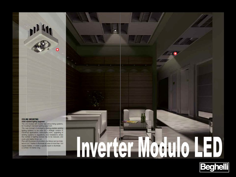 Inverter Modulo LED