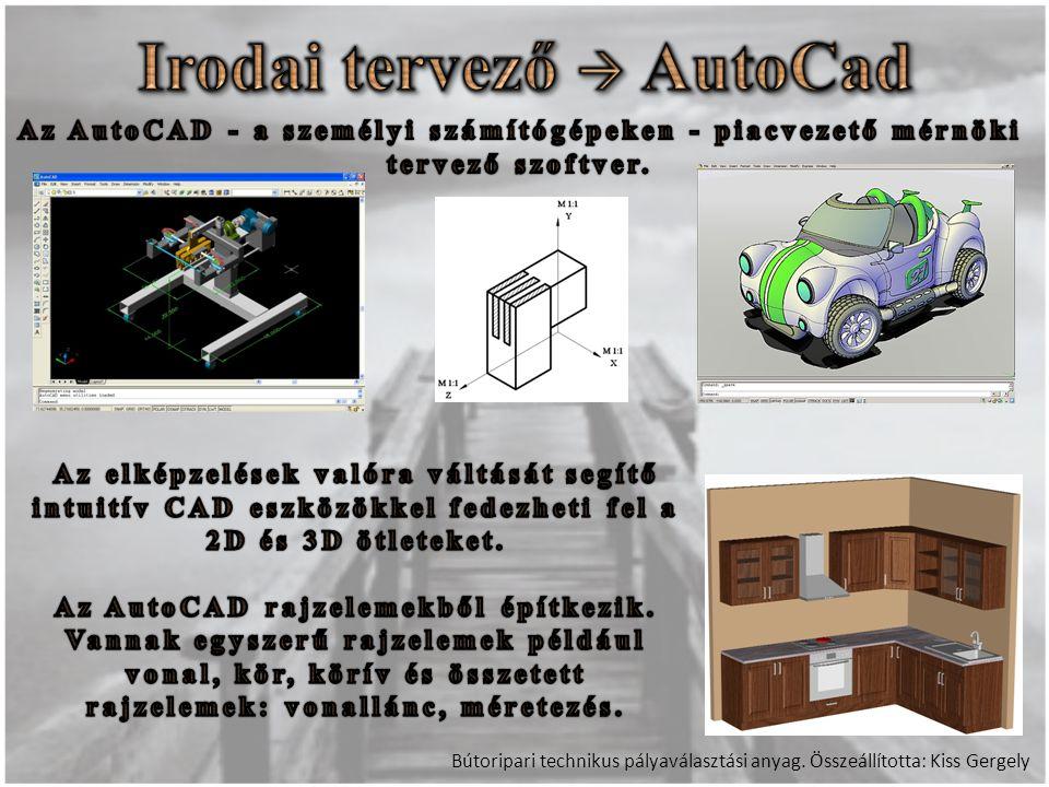 Irodai tervező  AutoCad