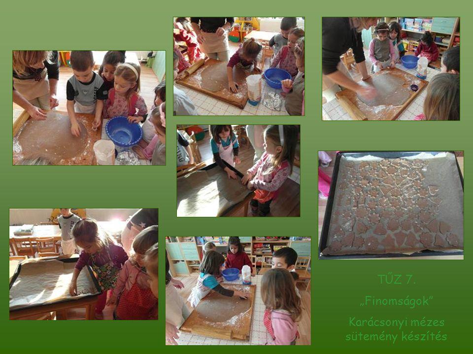 Karácsonyi mézes sütemény készítés