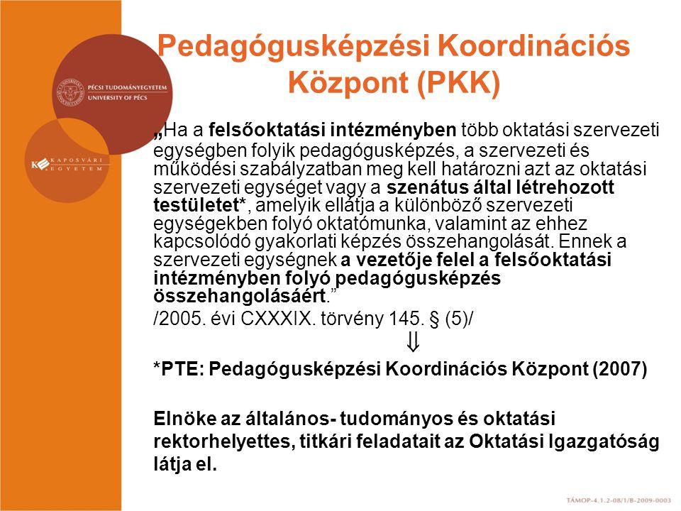 Pedagógusképzési Koordinációs Központ (PKK)