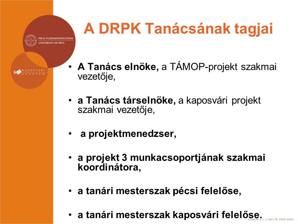 A DRPK Tanácsának tagjai
