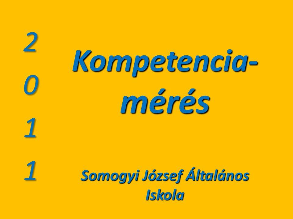 Kompetencia- mérés Somogyi József Általános Iskola
