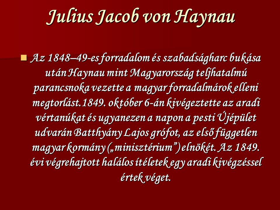 Julius Jacob von Haynau