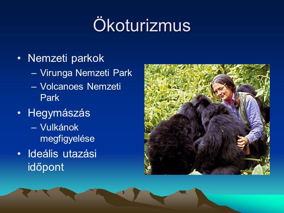 Ökoturizmus Nemzeti parkok Hegymászás Ideális utazási időpont