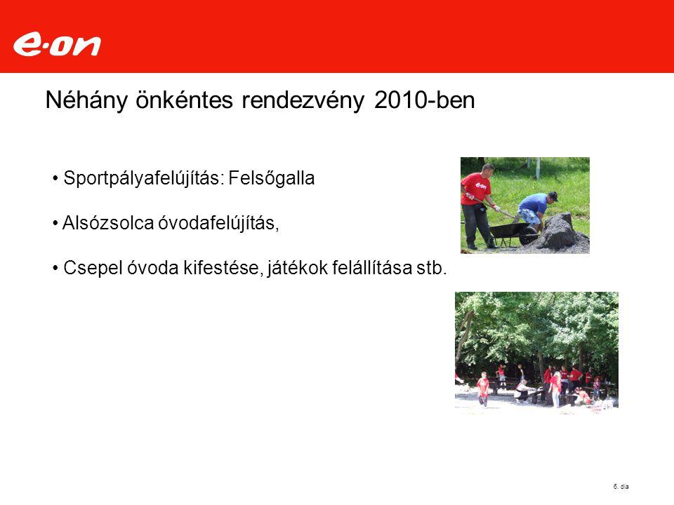 Néhány önkéntes rendezvény 2010-ben