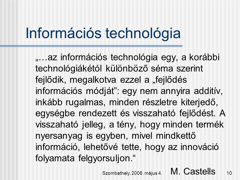 Információs technológia