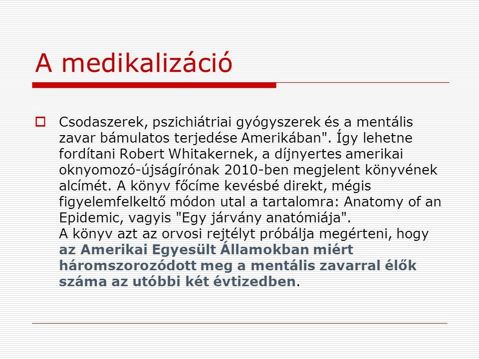 A medikalizáció
