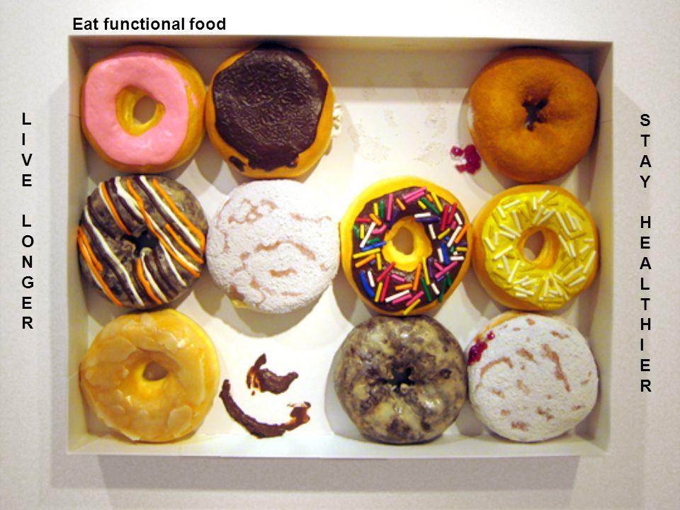 Eat functional food L I V E O N G R S T A Y H E L I R