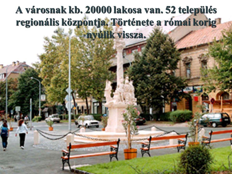 A városnak kb. 20000 lakosa van. 52 település regionális központja