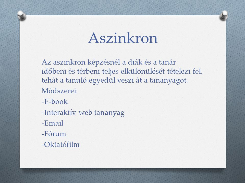 Aszinkron