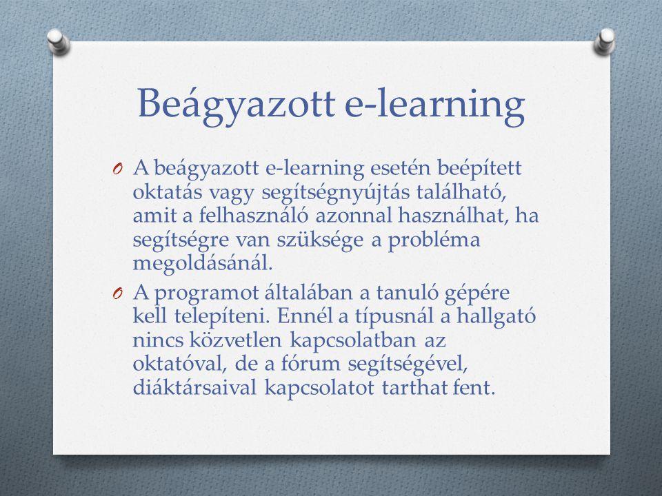 Beágyazott e-learning