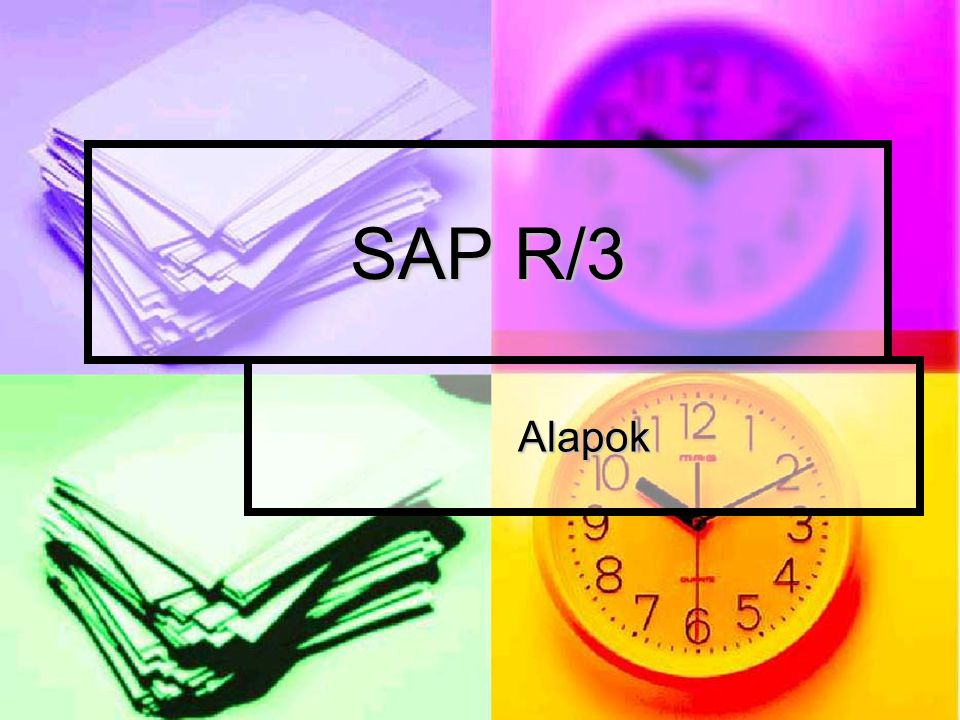 SAP R/3 Alapok