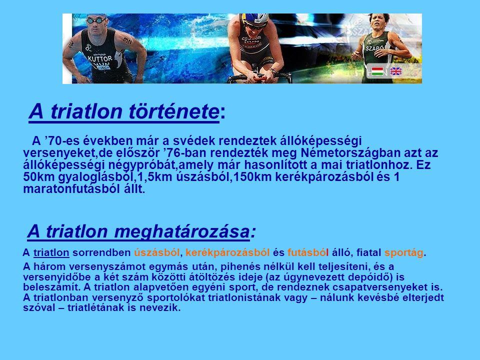 A triatlon története: