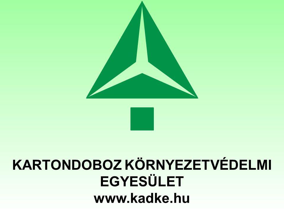 Kartondoboz Környezetvédelmi Egyesület www.kadke.hu