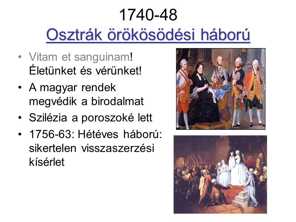 1740-48 Osztrák örökösödési háború