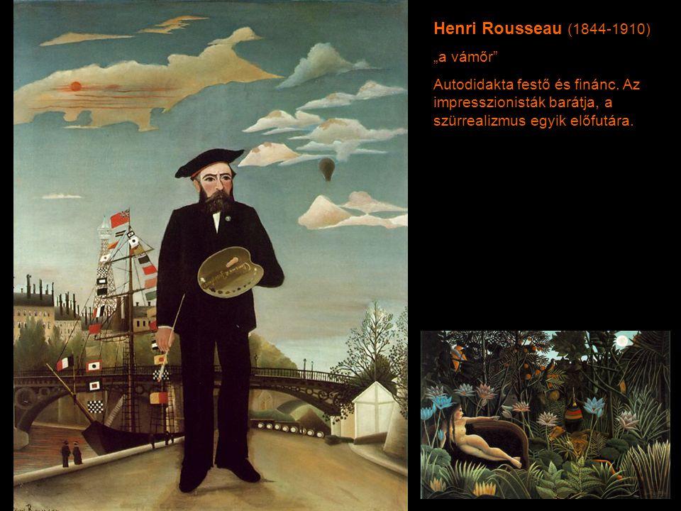 """Henri Rousseau (1844-1910) """"a vámőr"""