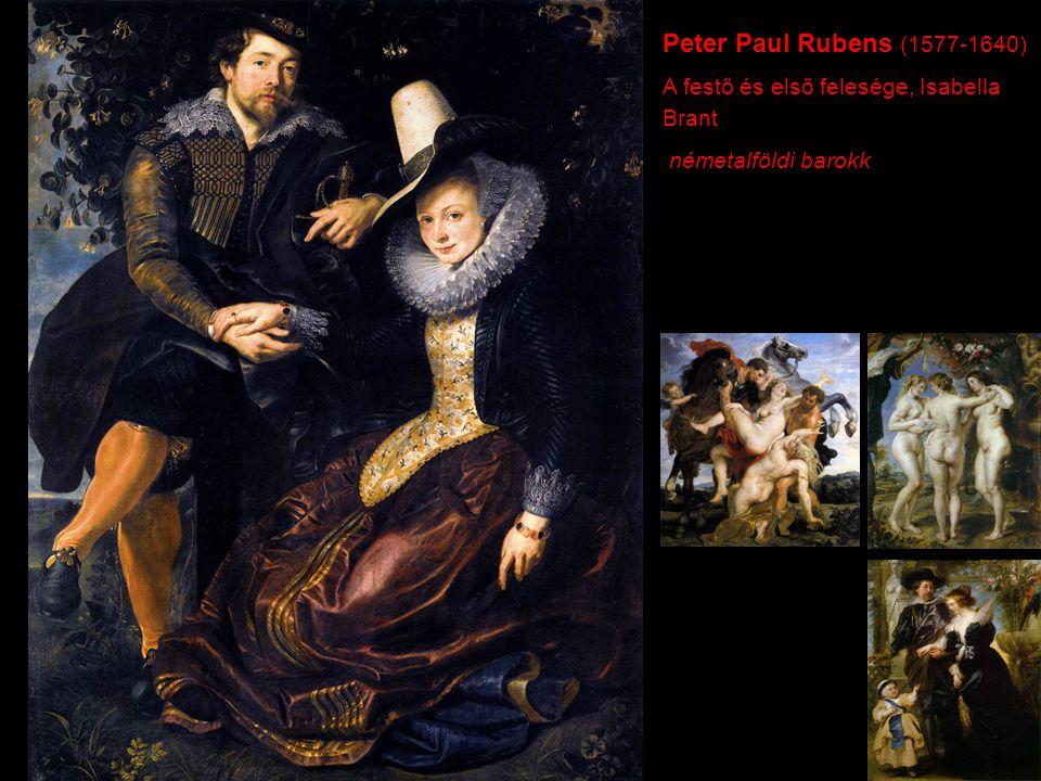 Peter Paul Rubens (1577-1640) A festő és első felesége, Isabella Brant