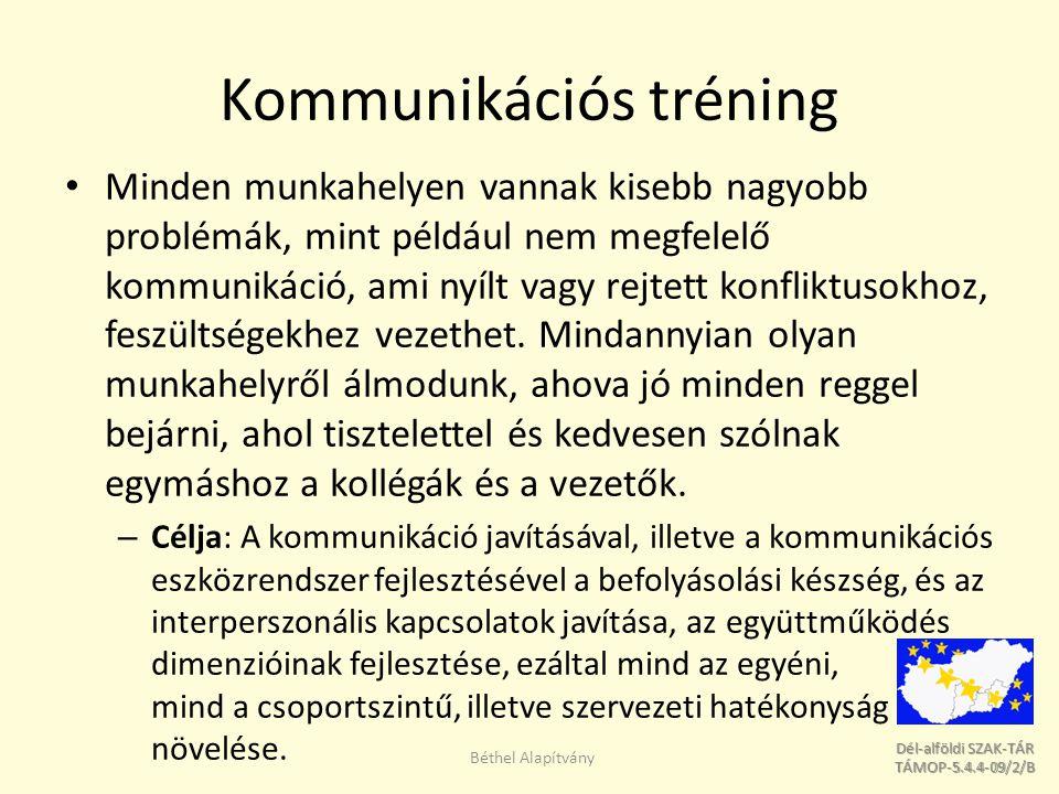 Kommunikációs tréning
