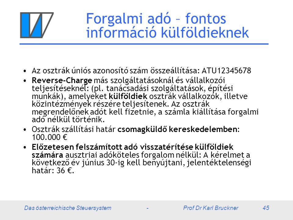 Forgalmi adó – fontos információ külföldieknek