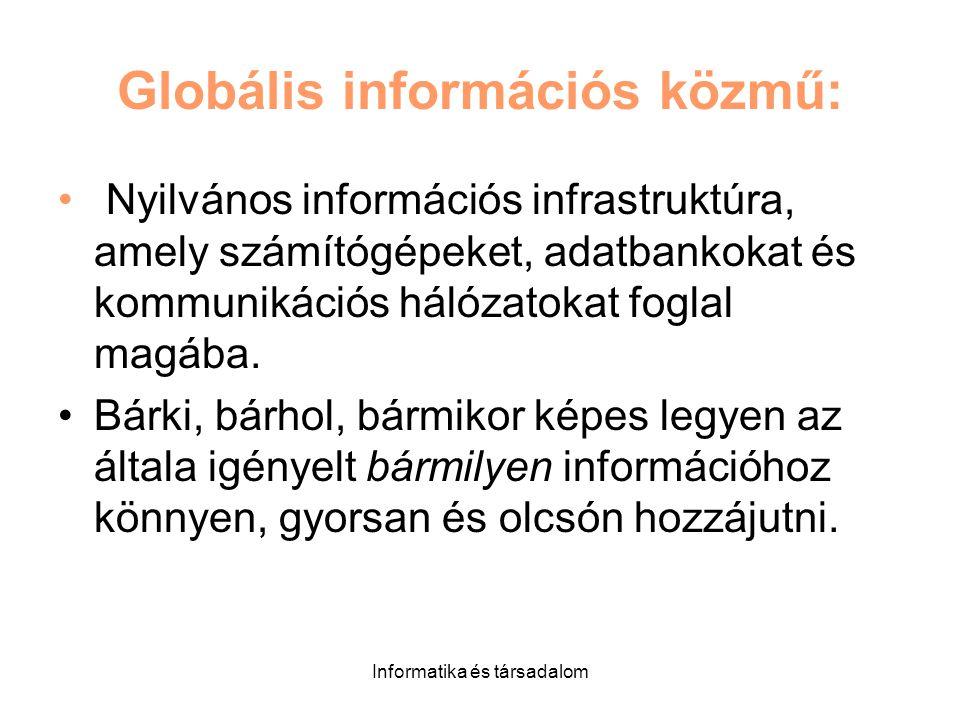 Globális információs közmű: