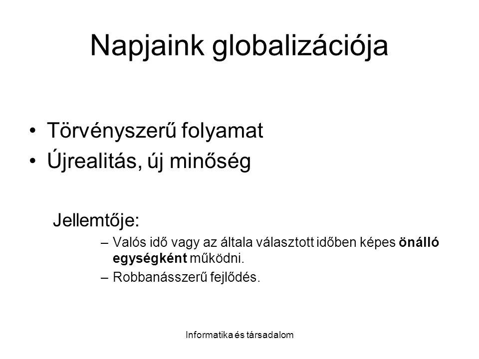 Napjaink globalizációja