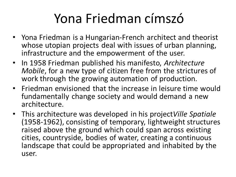 Yona Friedman címszó