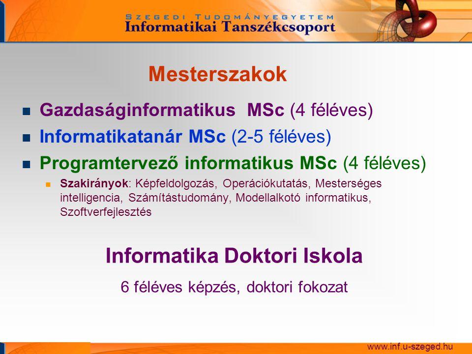 Informatika Doktori Iskola