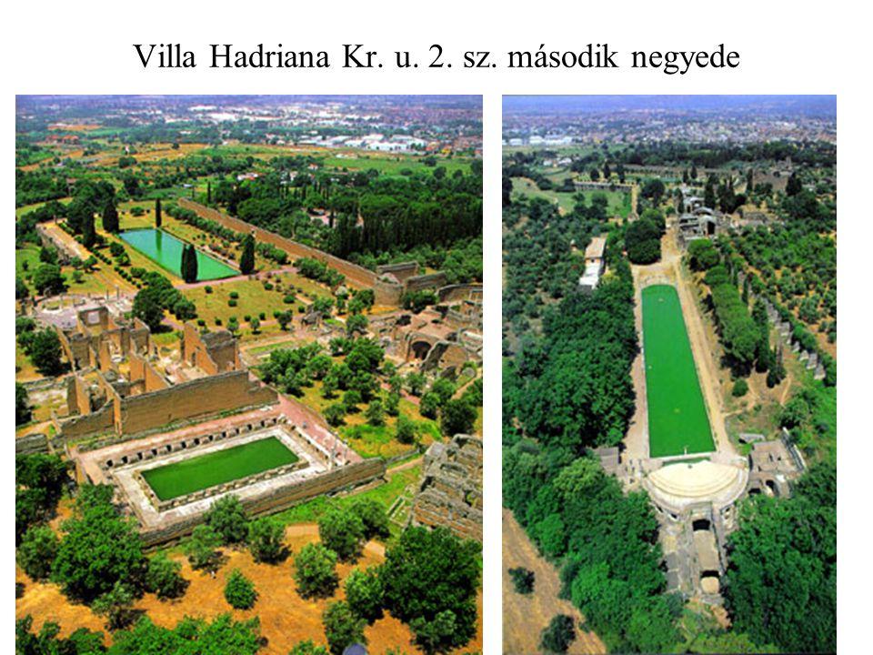 Villa Hadriana Kr. u. 2. sz. második negyede