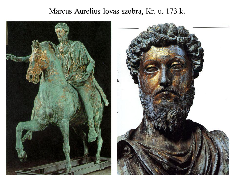 Marcus Aurelius lovas szobra, Kr. u. 173 k.