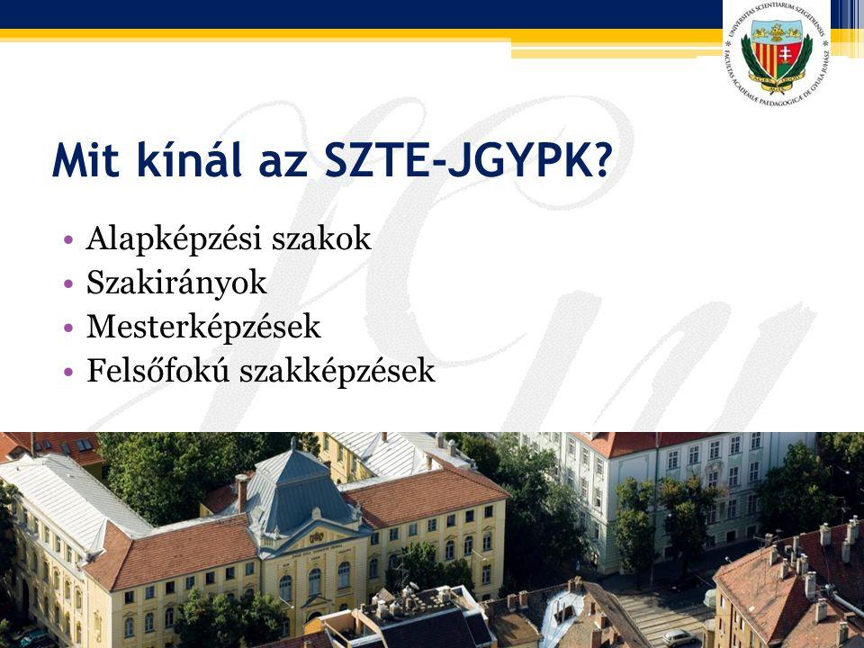 Mit kínál az SZTE-JGYPK