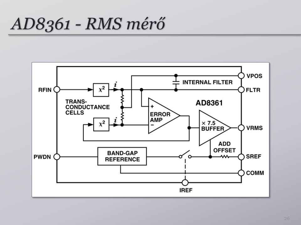 AD8361 - RMS mérő