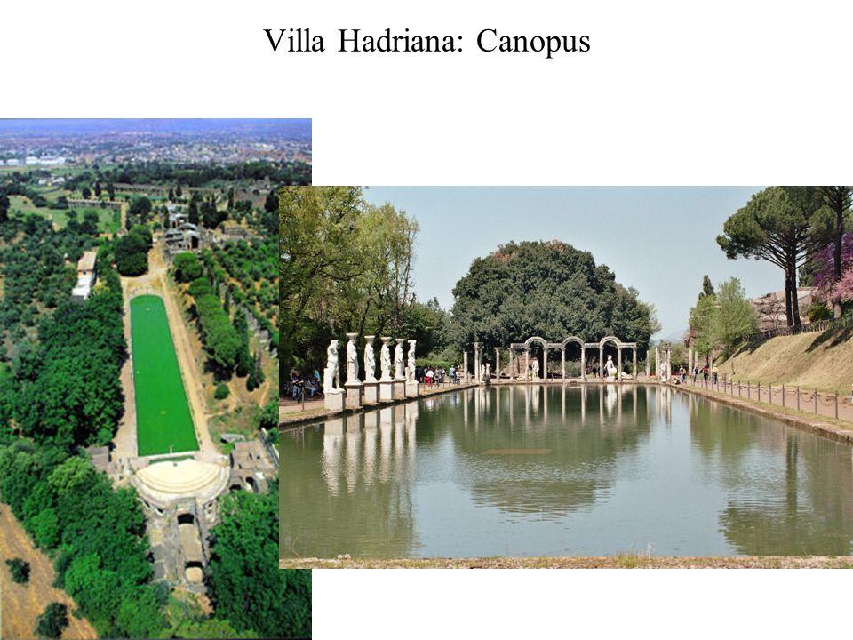 Villa Hadriana: Canopus