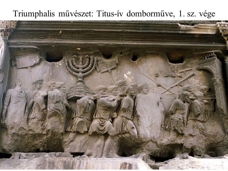 Triumphalis művészet: Titus-ív domborműve, 1. sz. vége