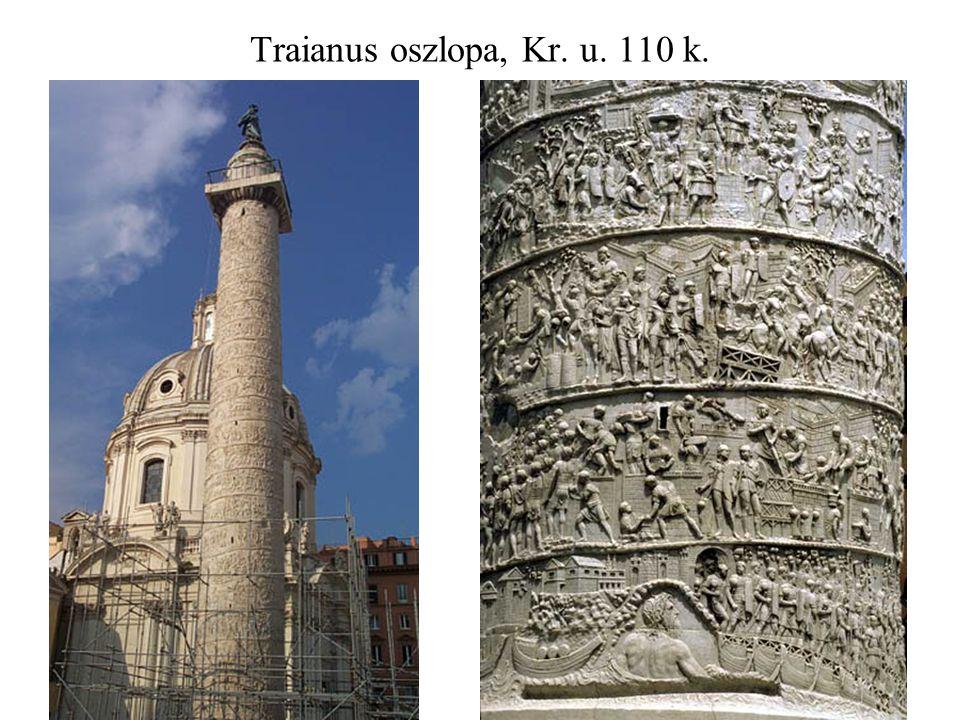 Traianus oszlopa, Kr. u. 110 k.