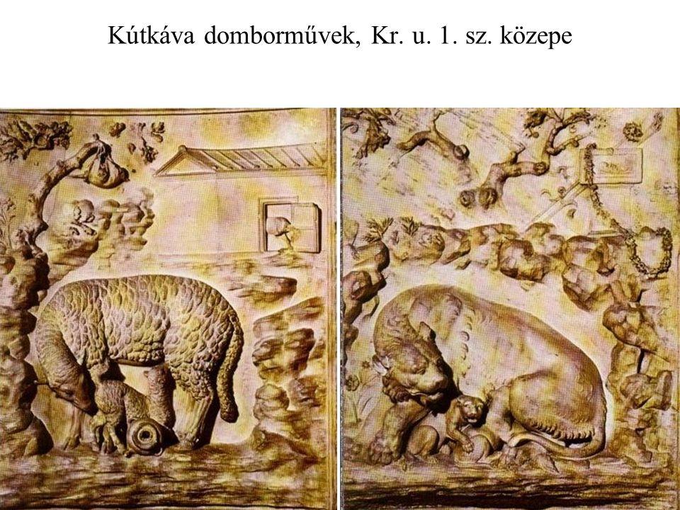 Kútkáva domborművek, Kr. u. 1. sz. közepe