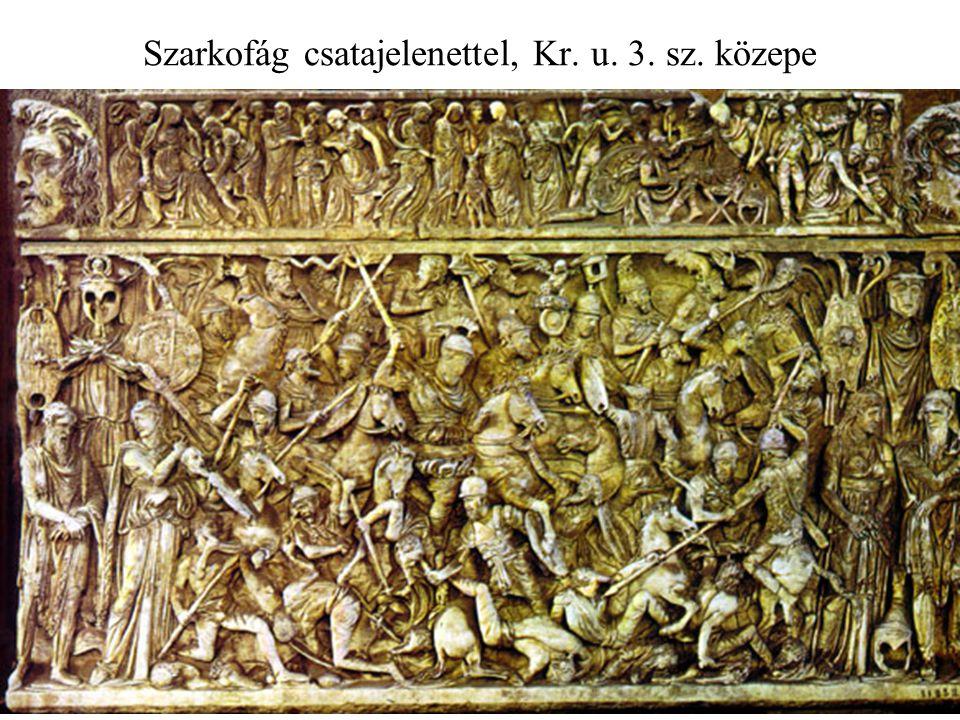 Szarkofág csatajelenettel, Kr. u. 3. sz. közepe