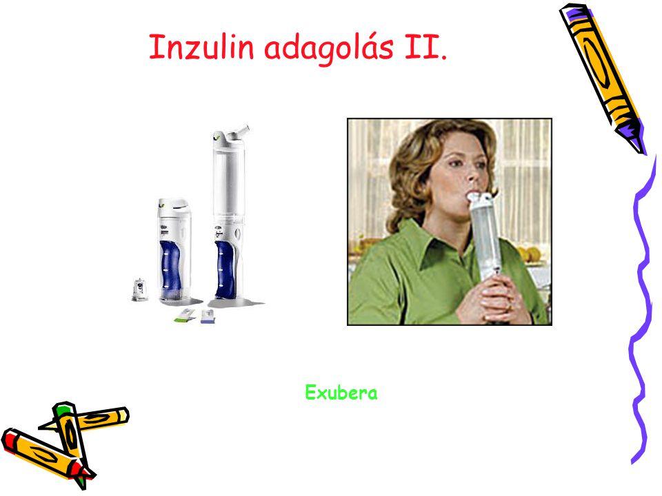 Inzulin adagolás II. Exubera 19